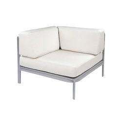 Naples Sectional Square Corner Chair | Sillones de jardín | Kingsley Bate