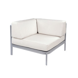 Naples Sectional Square Corner Chair | Garden armchairs | Kingsley Bate
