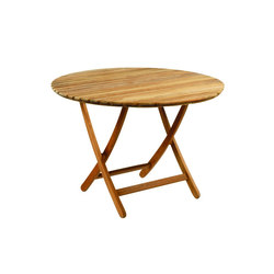 Newport Folding Table | Tables à manger de jardin | Kingsley Bate
