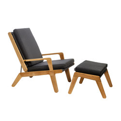 Skagen Deck Chair | Garden armchairs | Oasiq