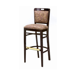 Wood Dining Chair/ Bar Stool | Taburetes de bar | BK Barrit