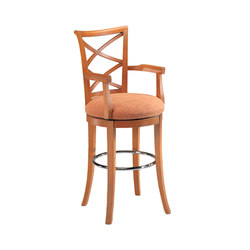 Wood Dining Chair/ Bar Stool | Barhocker | BK Barrit
