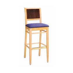 Wood Dining Chair/ Bar Stool | Barhocker | BK Barrit
