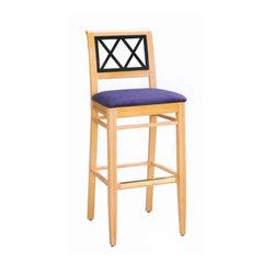 Wood Dining Chair/ Bar Stool | Tabourets de bar | BK Barrit