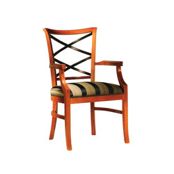 Wood Dining Chair with Armrest | Restaurantstühle | BK Barrit