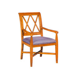 Wood Dining Chair with Armrest | Sillas | BK Barrit