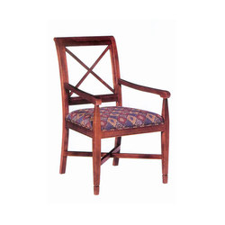 Wood Dining Chair with Armrest | Chaises de restaurant | BK Barrit