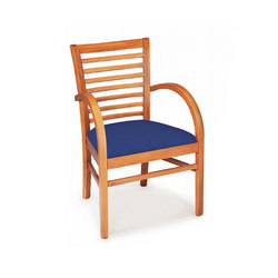 Wood Dining Chair with Armrest | Chaises | BK Barrit