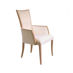 Wood Dining Chair with Armrest | Sedie | BK Barrit