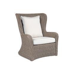 Sag Harbor High Back Lounge Chair | Garden armchairs | Kingsley Bate