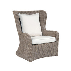 Sag Harbor High Back Lounge Chair | Sillones | Kingsley Bate