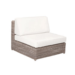Sag Harbor Sectional Armless Chair | Gartensessel | Kingsley Bate