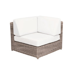 Sag Harbor Sectional Corner Chair | Gartensessel | Kingsley Bate