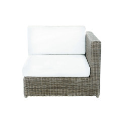 Sag Harbor Sectional Left/Right End Chair | Garden armchairs | Kingsley Bate