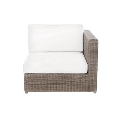 Sag Harbor Sectional Left/Right End Chair | Fauteuils de jardin | Kingsley Bate