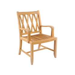 Somerset Dining Armchair | Garden chairs | Kingsley Bate