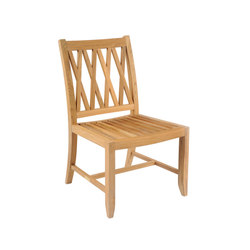 Somerset Dining Side Chair | Sièges de jardin | Kingsley Bate