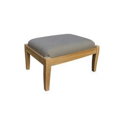 Sonoma Club Ottoman | Garden stools | Kingsley Bate