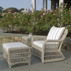 Southampton Lounge Chair + Ottoman | Poltrone da giardino | Kingsley Bate