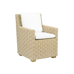 St. Barts Dining Armchair | Garden chairs | Kingsley Bate