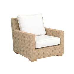 St. Barts Lounge Chair | Fauteuils de jardin | Kingsley Bate