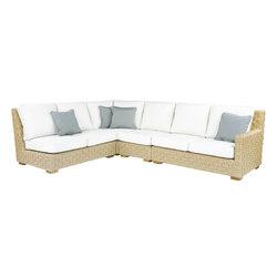 St. Barts Sectional | Sofas de jardin | Kingsley Bate