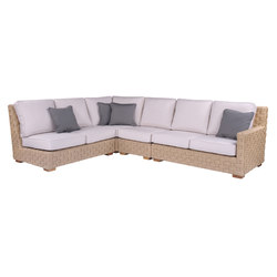 St. Barts Sectional | Garden sofas | Kingsley Bate