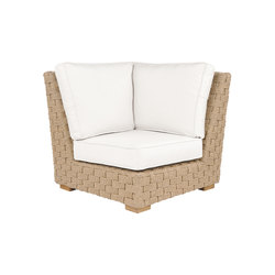 St. Barts Sectional Corner Chair | Fauteuils de jardin | Kingsley Bate