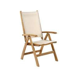 St. Tropez Adjustable Chair | Garden chairs | Kingsley Bate