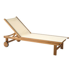 St. Tropez Chaise | Sun loungers | Kingsley Bate