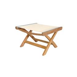 St. Tropez Club Ottoman | Garden stools | Kingsley Bate