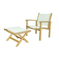 St. Tropez Club Chair + Ottoman | Sillones de jardín | Kingsley Bate