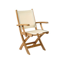 St. Tropez Folding Armchair | Garden chairs | Kingsley Bate