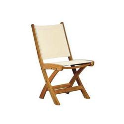 St. Tropez Folding Side Chair | Sedie da giardino | Kingsley Bate
