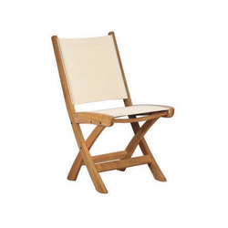 St. Tropez Folding Side Chair | Sillas de jardín | Kingsley Bate