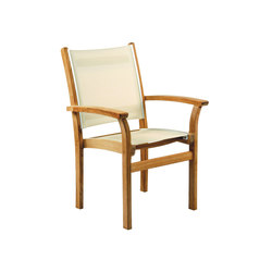 St. Tropez Stacking Armchair | Garden chairs | Kingsley Bate