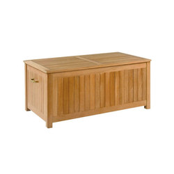 Teak Cushion Boxes | Chests | Kingsley Bate