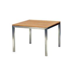 Tiburon Square Table | Mesas de comedor de jardín | Kingsley Bate