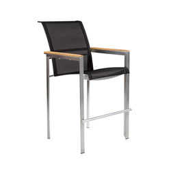 Tivoli Bar Chair | Tabourets de bar de jardin | Kingsley Bate