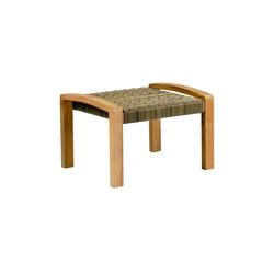 Venice Club Ottoman | Garden stools | Kingsley-Bate