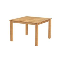 "Wainscott Square Dining Table | 42"" | Mesas de comedor de jardín | Kingsley Bate"