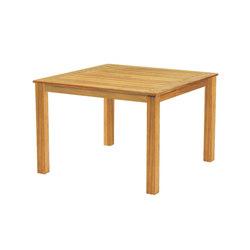 Wainscott Square Dining Table   Tables à manger de jardin   Kingsley Bate