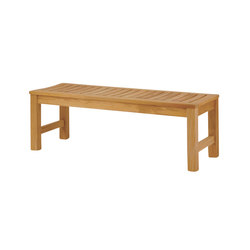 Waverly Backless Bench | Garden benches | Kingsley Bate