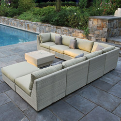 Westport Sectional | Garden lounges | Kingsley Bate