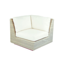 Westport Sectional Corner Chair & Left/Right Side | Garden armchairs | Kingsley Bate