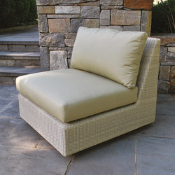 Westport Sectional Armless Chair | Gartensessel | Kingsley Bate