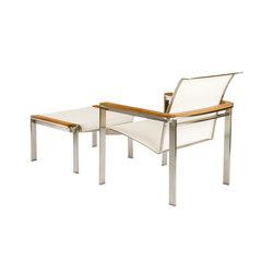 Tivoli Club Chair + Ottoman | Poltrone da giardino | Kingsley Bate