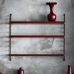 string pocket burgundy | Estantería | string furniture