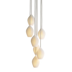 Fin Grouping of Seven Pendant | Iluminación general | Original BTC Limited