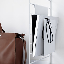 string+ magazine holder | Scaffali | string furniture